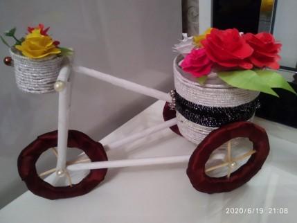 Dekorativ velosiped