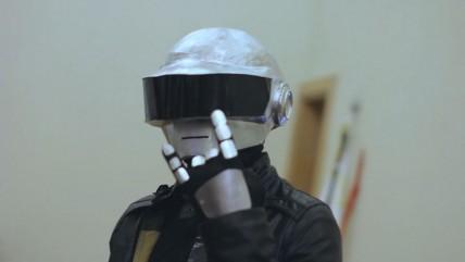 Kospley üçün Daft Punk Kaskı